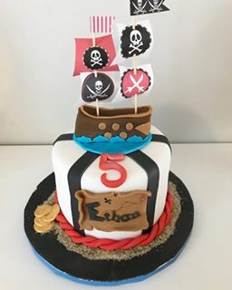Gâteau pirate d'Ethan