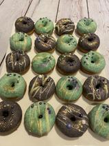 Mini Donuts vert & violet