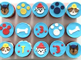 Cupcakes Pat'patrouille