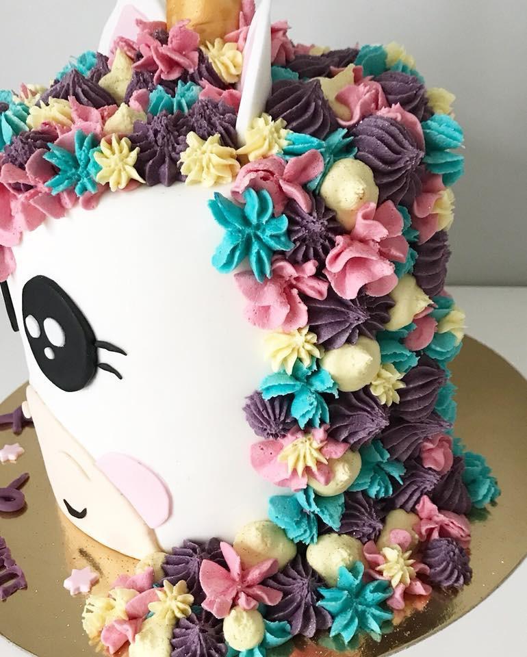 Gâteau Licorne de Laura