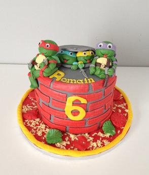 Gâteau Tortue Ninja de Romain