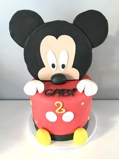 Gâteau Mickey de Gaby