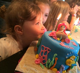 Gâteau la petite sirène de Sofia