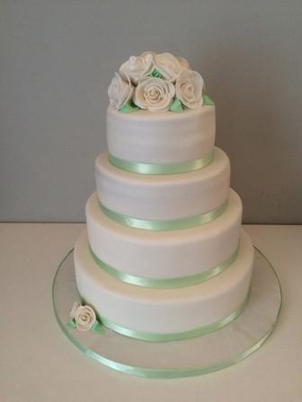 Wedding Cake classique de Anne Laure & Jean Hugues