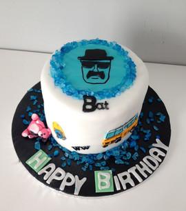 Gâteau Breaking Bad de Baptiste.
