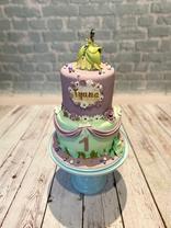 Gâteau la princesse & la grenouille