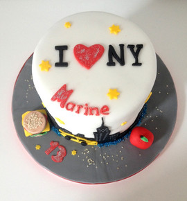 Gâteau New York de Marine.