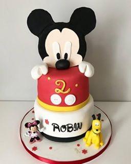 Gâteau Mickey de Robin