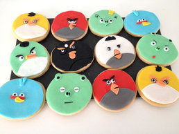 Sablés Angry Birds