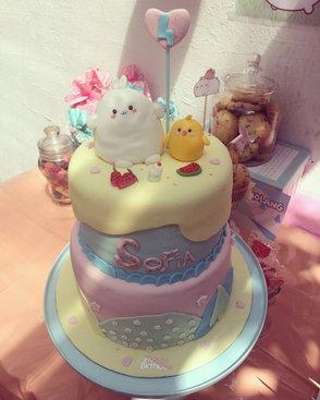 Gâteau Molang de Sofia