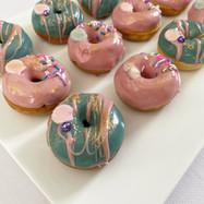 Mini donuts thème sirène