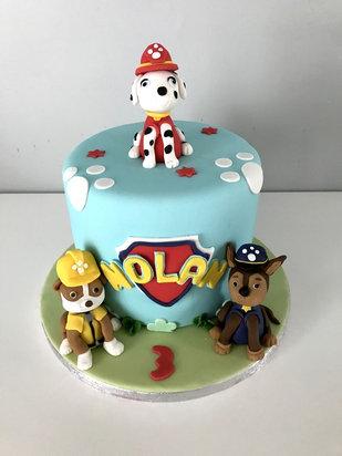 Gâteau Pat'Patrouille de Nolan