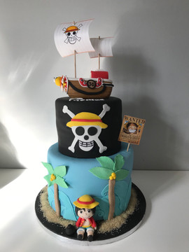 Gâteau One Piece de Thomas