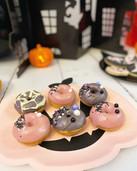 Mini donuts Halloween