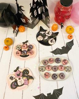 Sablés décorés Halloween