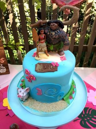 Gâteau Vaiana de M
