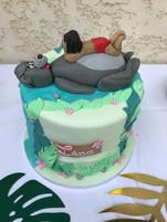 Gâteau Livre de la jungle de Léna