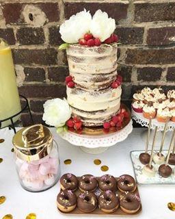 Wedding Cake Naked cake