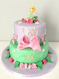 Gâteau fée clochette de Livia