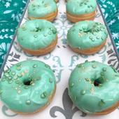 Mini donuts vert