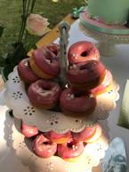 Mini Donuts vieux rose