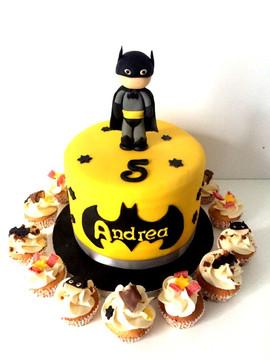 Gâteau Batman de Andrea