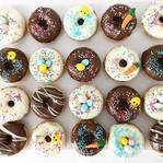Mini donuts de pâques