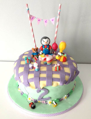 Gâteau Tchoupi de Jade