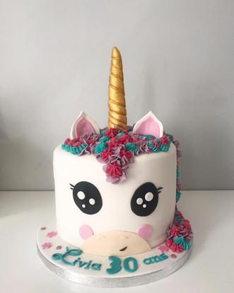 Gâteau Licorne de Livia