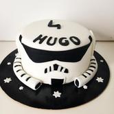 Gâteau Star Wars, stormtroopers, de Hugo.