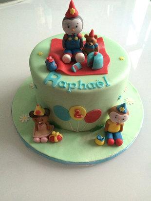 Gâteau Tchoupi de Raphaël