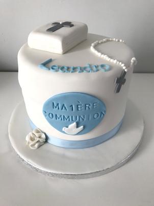 Gâteau 1ère communion