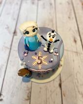 Gâteau Reine des Neiges de Lehna