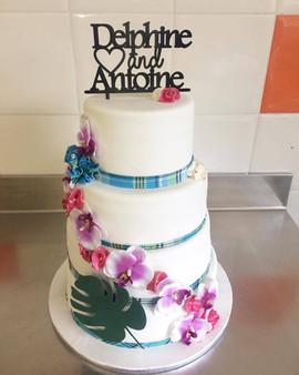 Wedding Cake de Delphine & Antoine