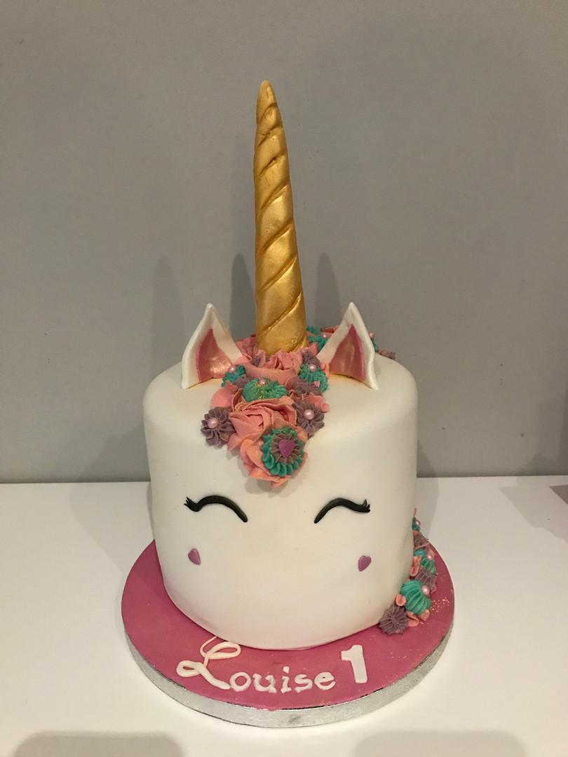 Gâteau Licorne de Louise