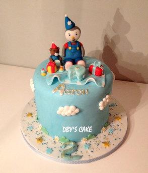 Gâteau Tchoupi d'Aaron