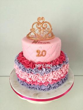 Gâteau princesse de Ninon