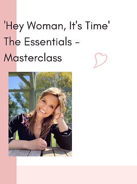 Masterclass: Hey woman it's time - the e