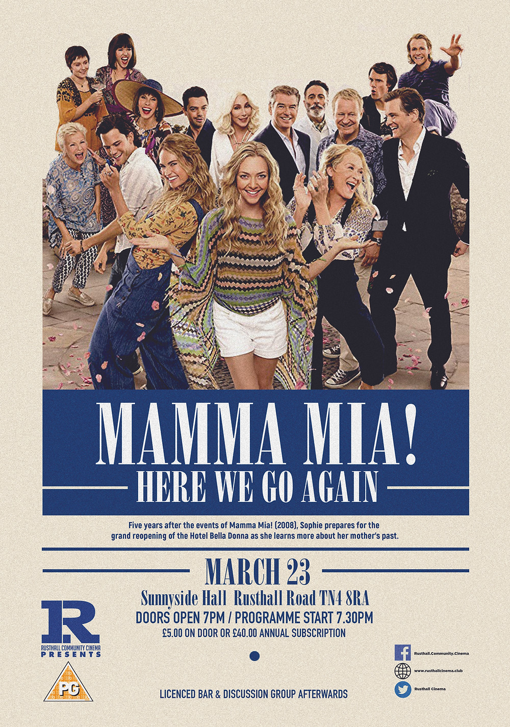 Mamma Mia Here We Go Again 2018 Singalong