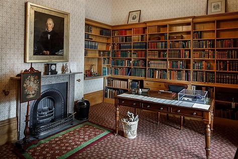 Elizabeth Gaskell's House - The Study -