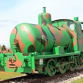 unique objects such as the fireless loco