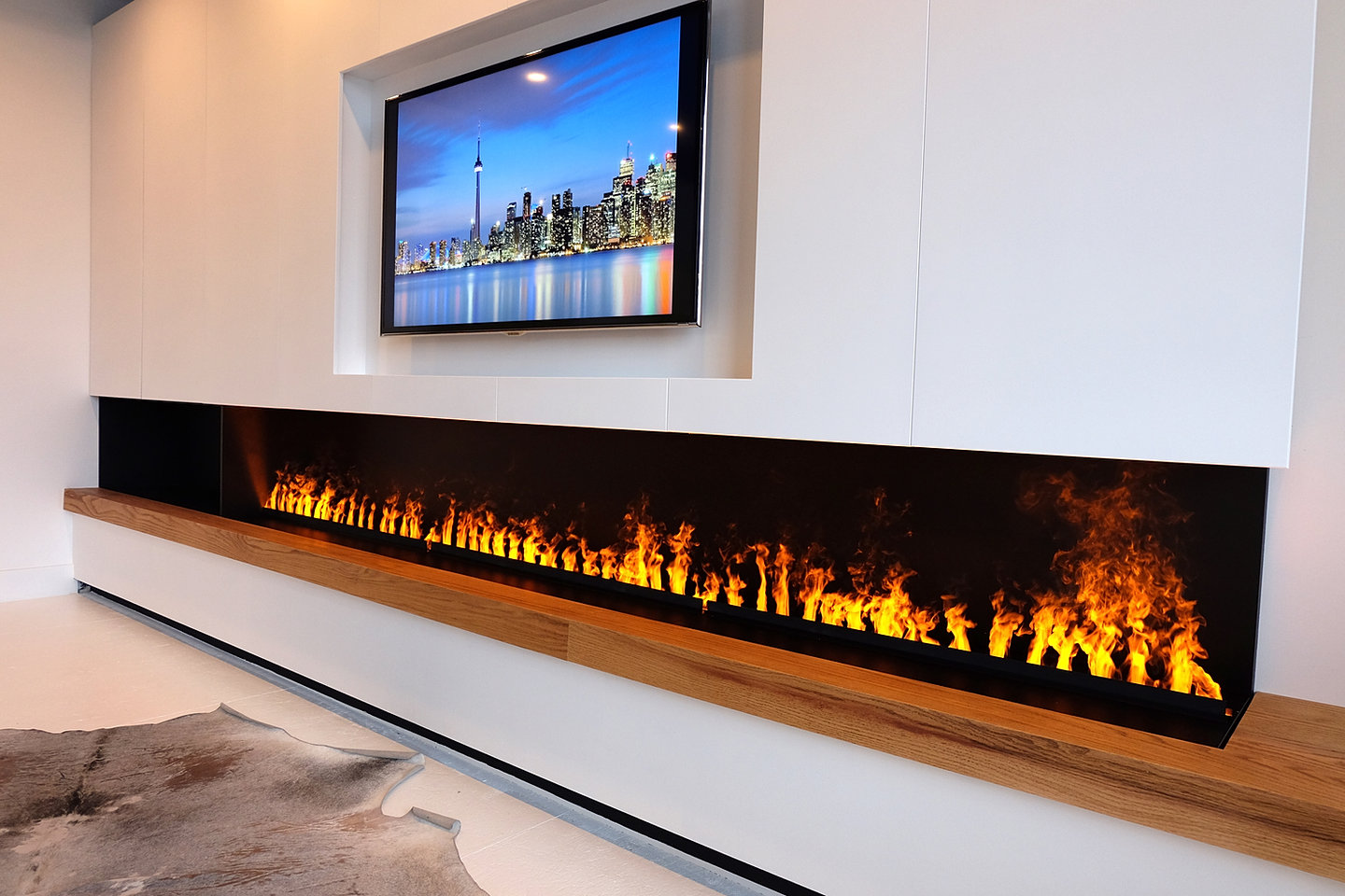 The best modern Fireplaces store in the GTA | Ortal Gas Fireplaces Expert | Electric Water Vapor Fireplaces Specialist | Design Conception Installation