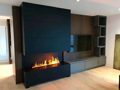 Nero Fire Water Vapor Fireplace | Nero Fire Design