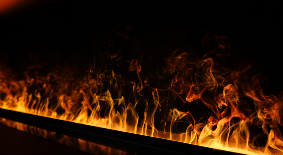 Water Vapor Fireplaces by Rad-Flame - Los Angeles