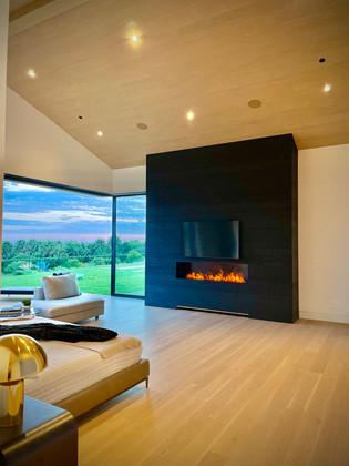 Water Vapor Fireplace | Nero Fire Design | Malibu, California