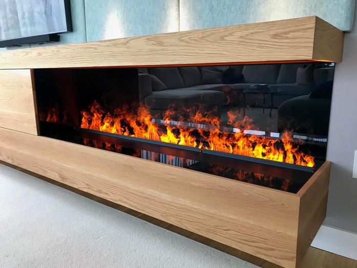 Water Vapor Fireplace | Nero Fire Design