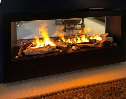 Water Vapor Fireplace   Nero Fire Design