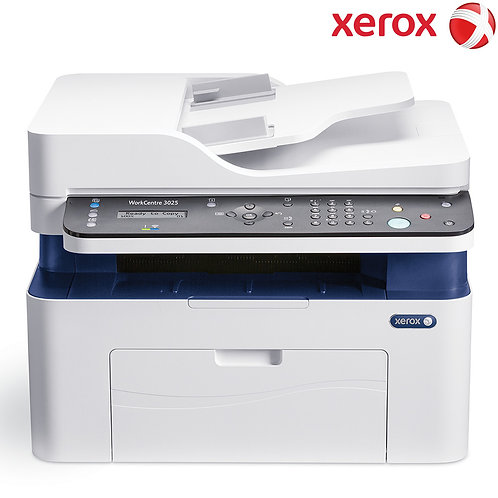 Xerox - WorkCentre 3025 - Laser\BW - Print\Scan\Copy\Fax\ Wireless