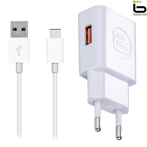 Baseline - Fast Charger + Type-C Cable