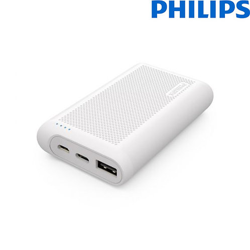 Philips - Ultra Compact PowerBank with Quick Charge - 10000 mAh - DLP6606NW